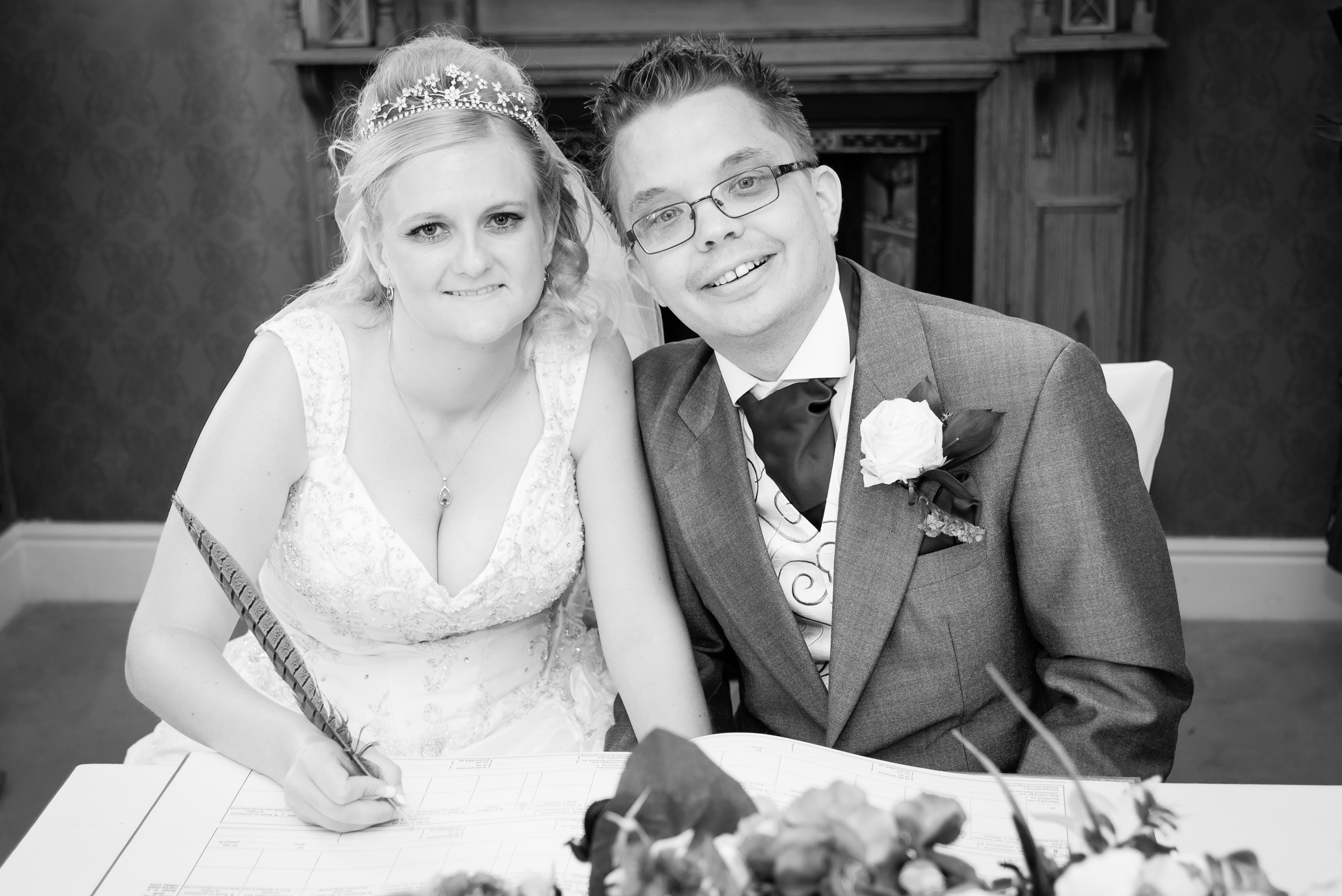 Wedding Photography Llwyn Hall Llanelli