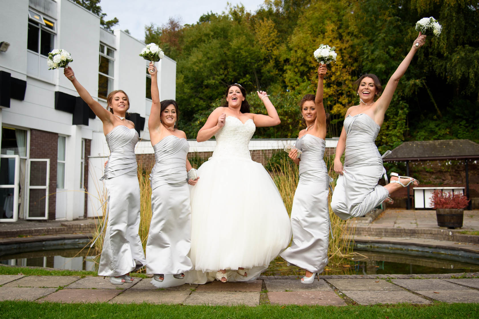 Wedding Photography The Manor Crickhowell
