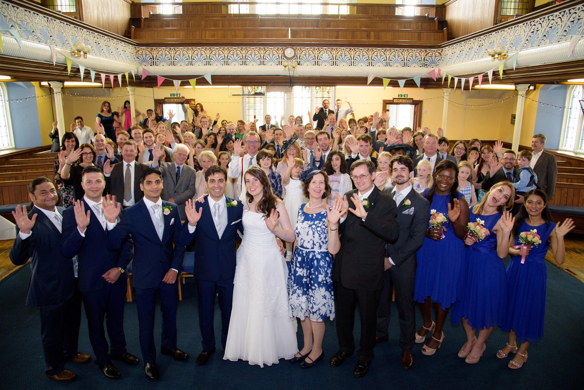 Wedding Photographer Gabalfa Baptist Church