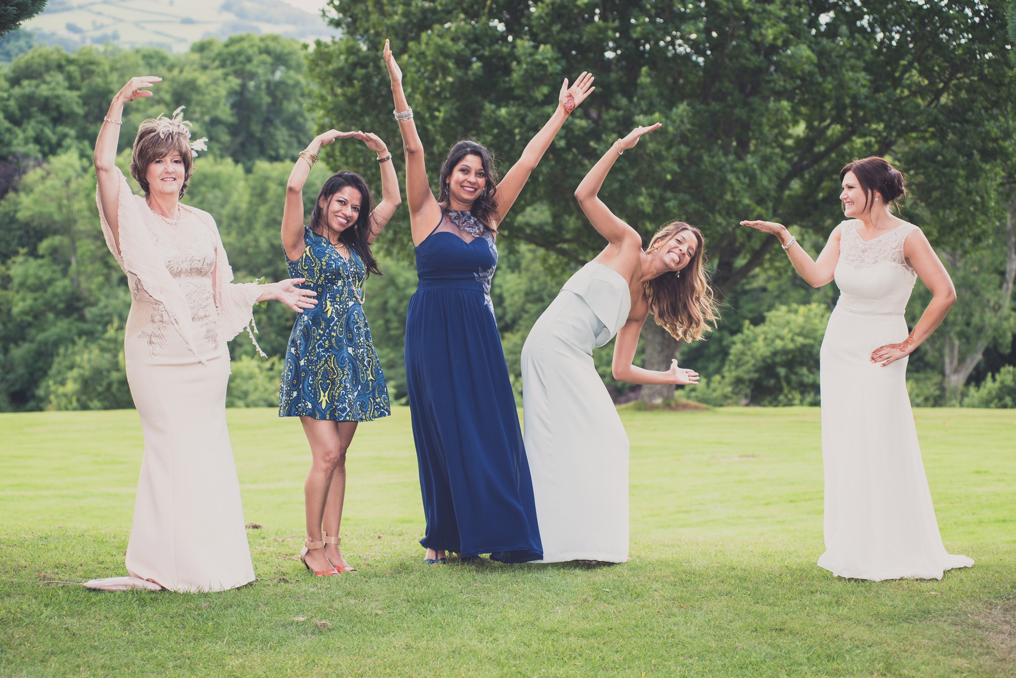 Wedding Photography Buckland Hall Brecon