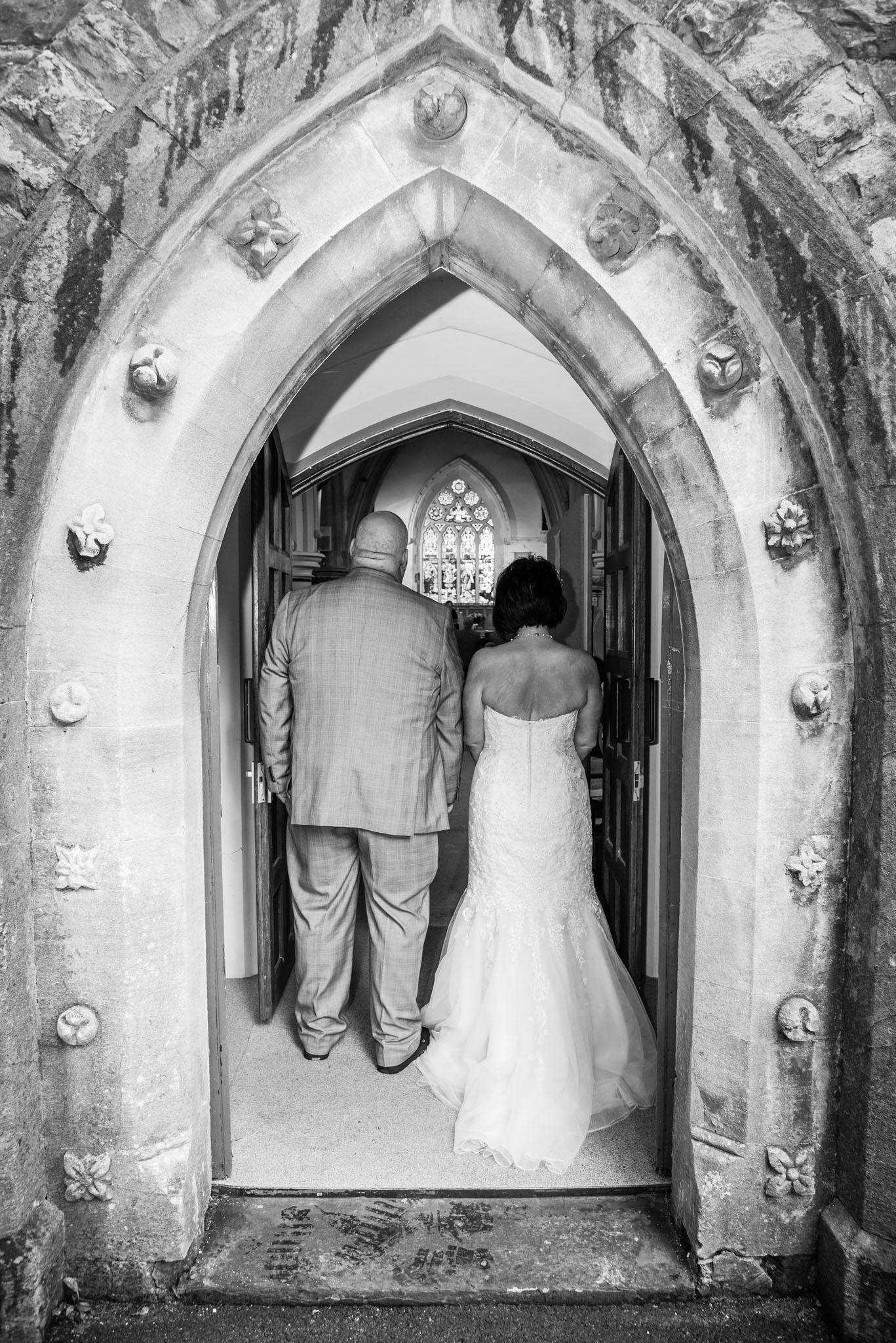 Wedding Photographer Christ Church Merthyr