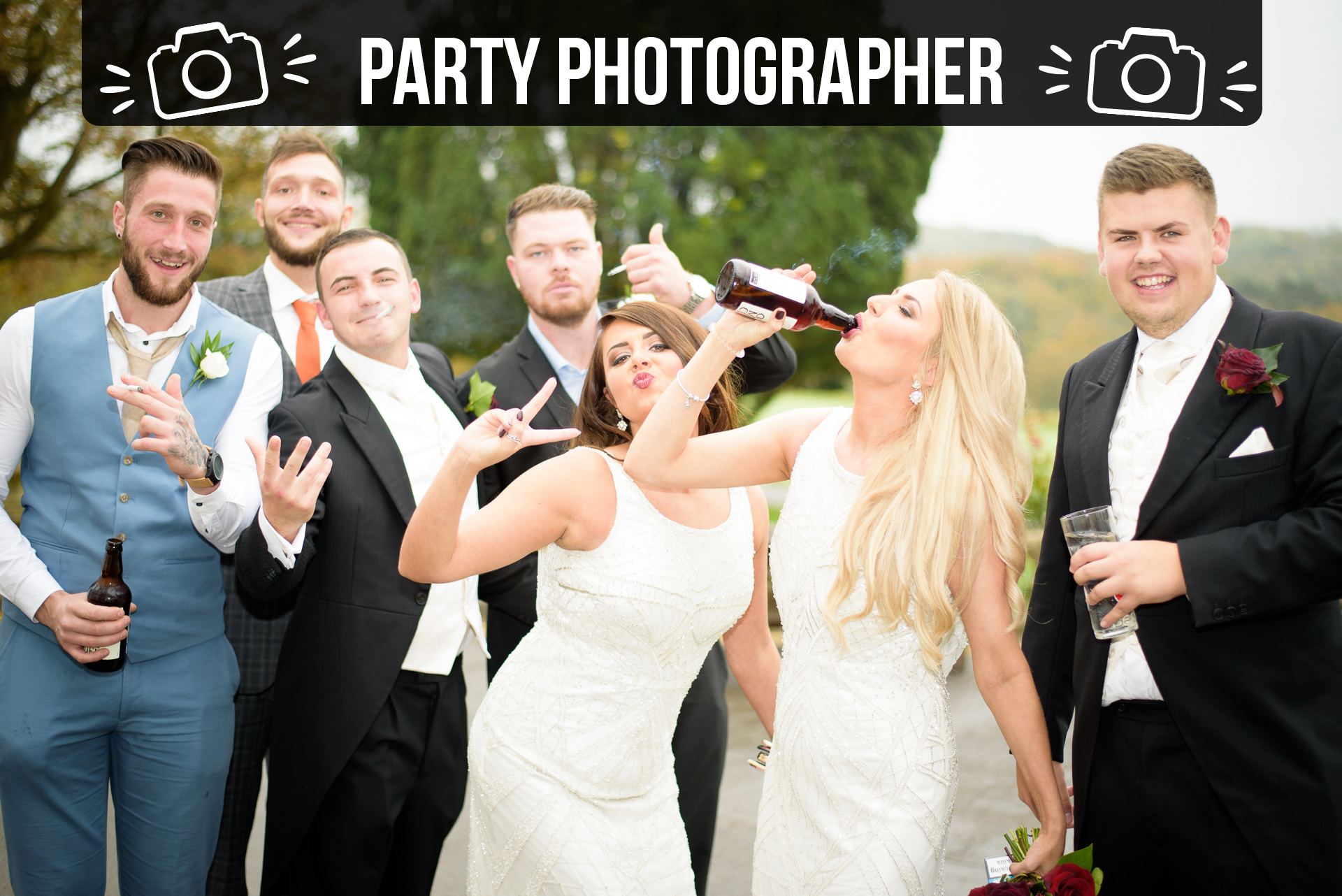 Party Photographer Cardiff