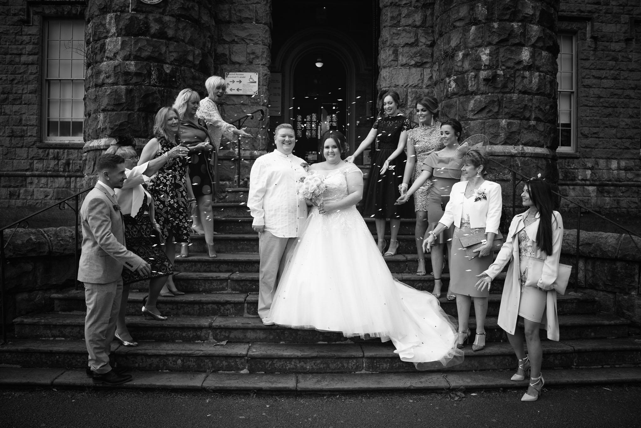 Wedding Photographer Cyfarthfa Castle