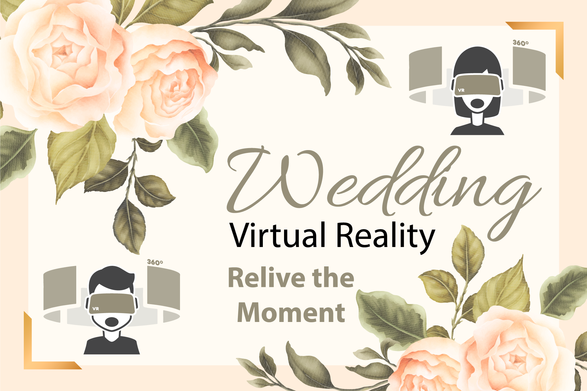 Virtual Reality VR 360 Wedding Videos